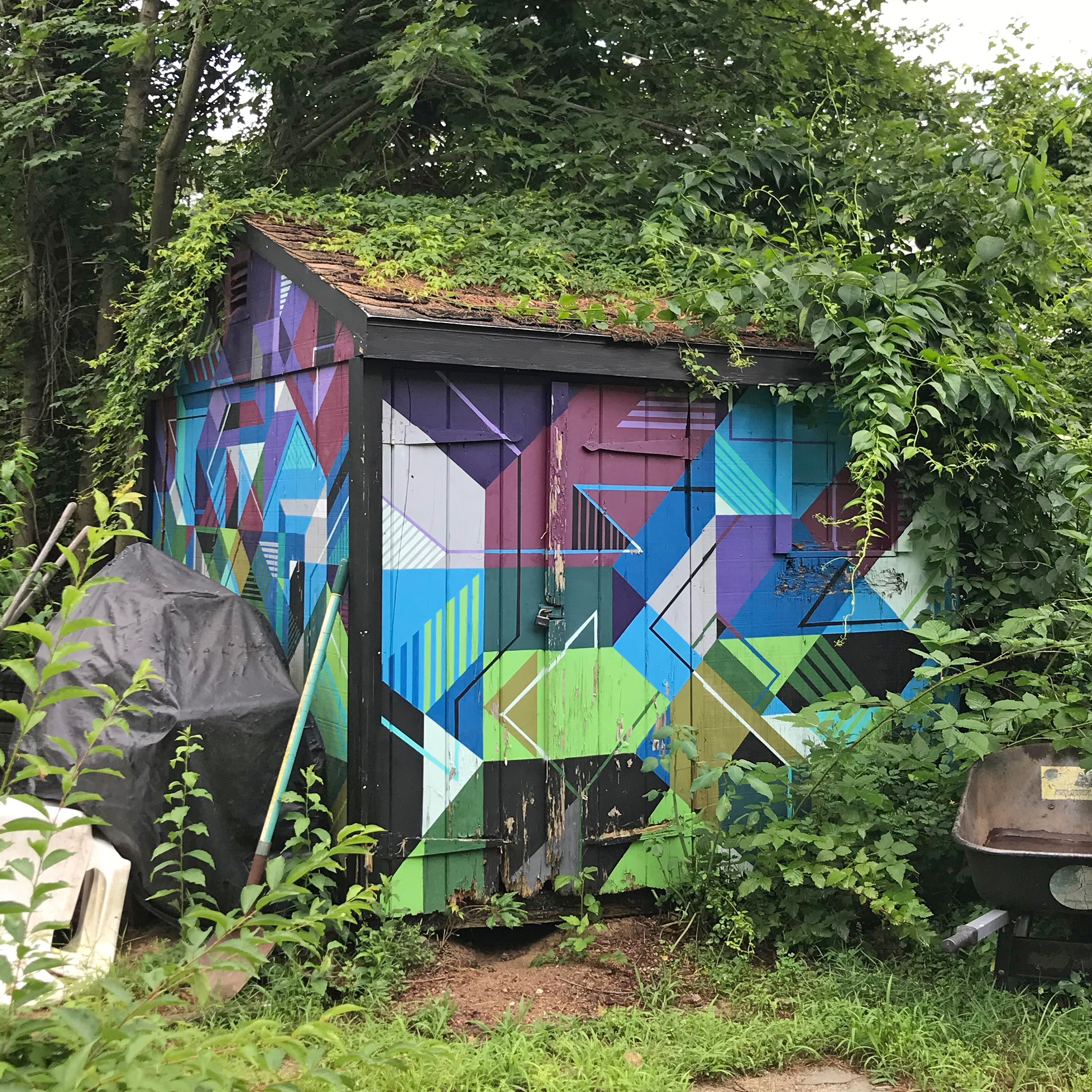 perfect painting weather. shed  - mwm_graphics | ello