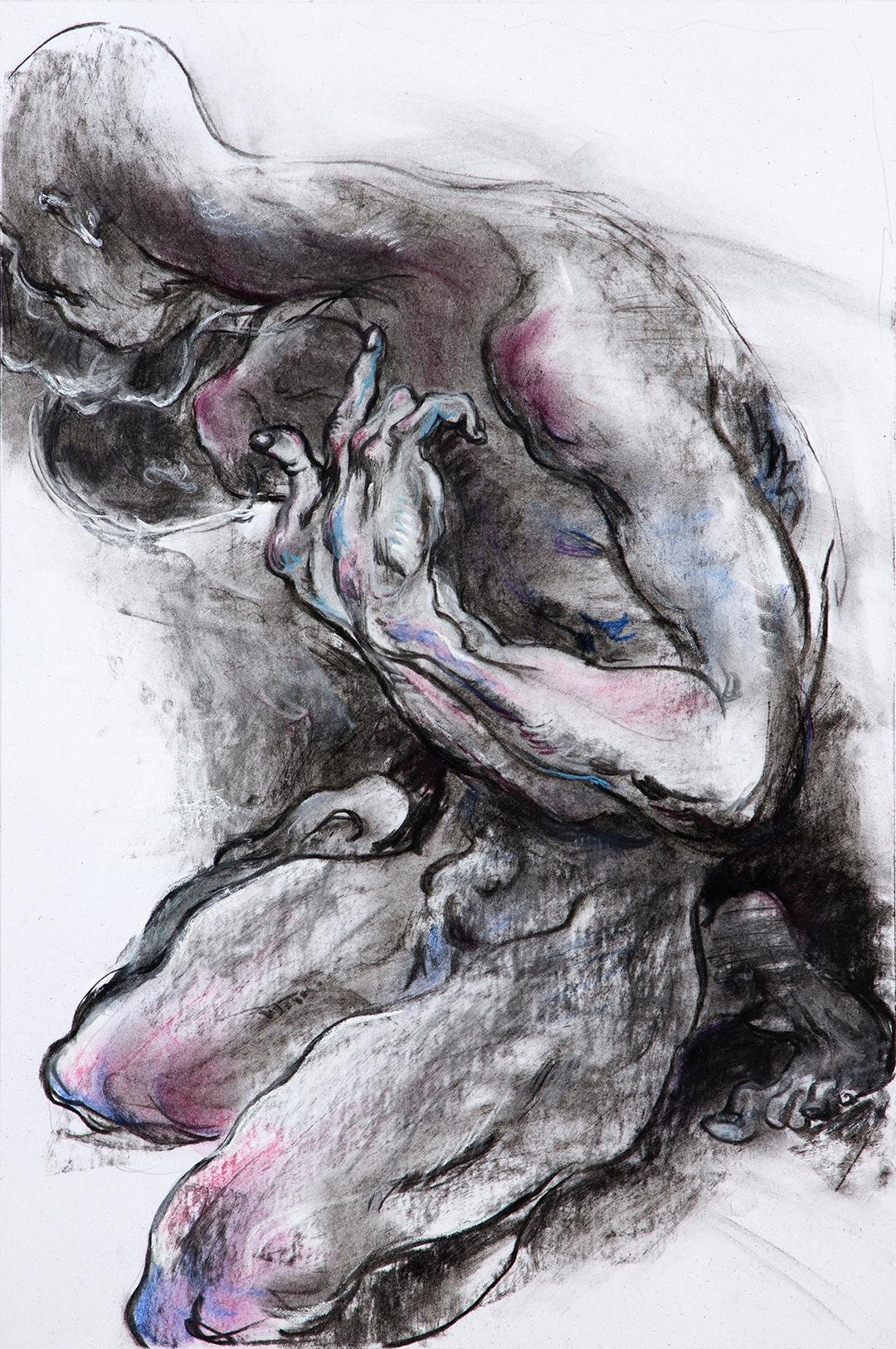 Bereavement (2018) Charcoal pas - yqin_art | ello