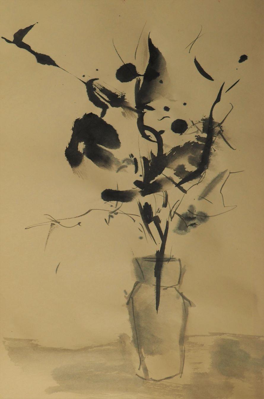 Sumi ink paper - drawing - homare | ello