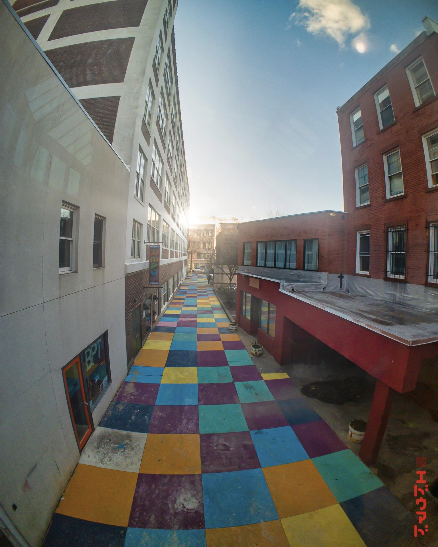 Time Tunnel Arcades alley, Brid - photografia | ello