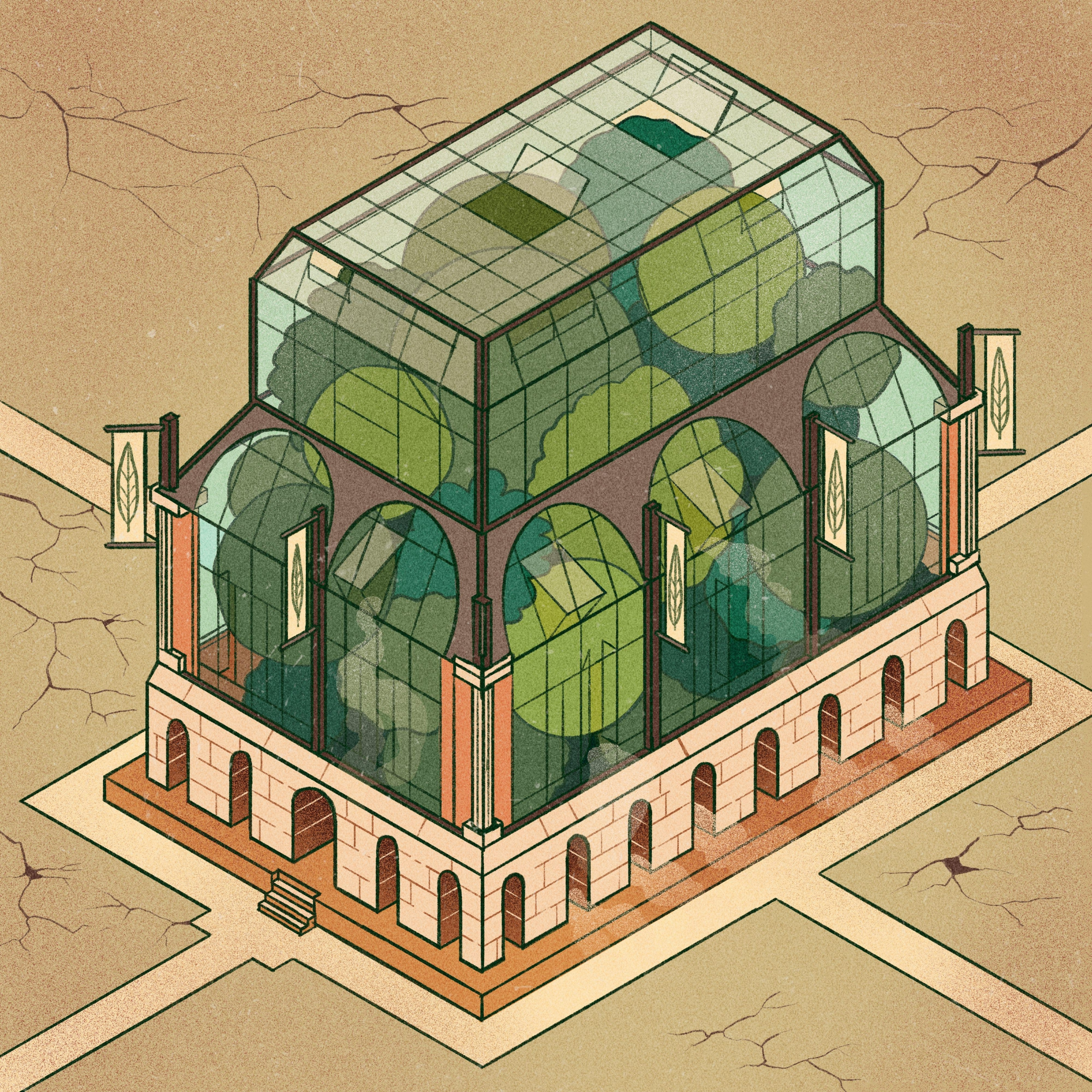Isometric houses – part Greenho - _s__g__h_ | ello