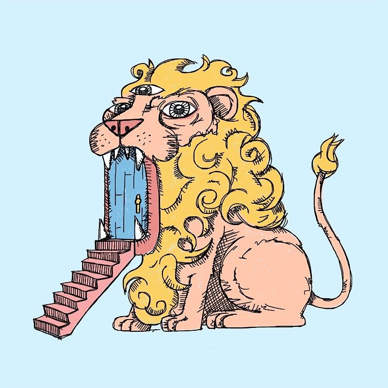 lions  #door - steps, stairway - catswilleatyou | ello