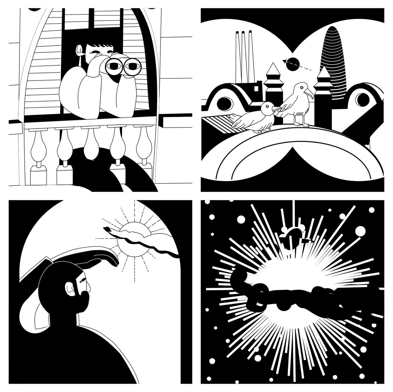starting webcomic serie - kehdi | ello