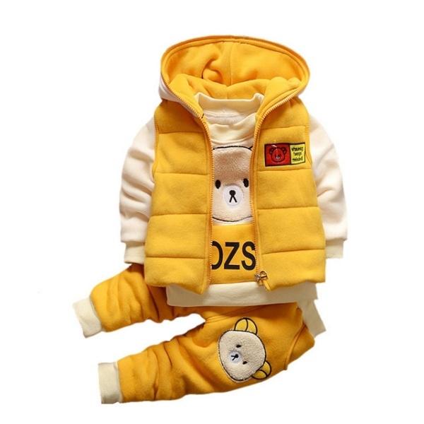Baby Boys Autumn Warm WaistCoat - secretshoppings | ello