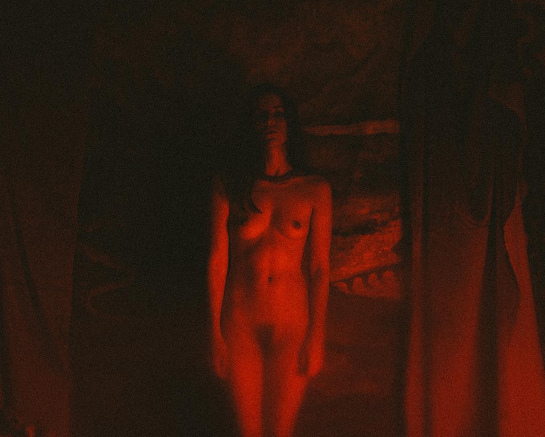 Follow - female, portrait, beauty - dark-indigo | ello