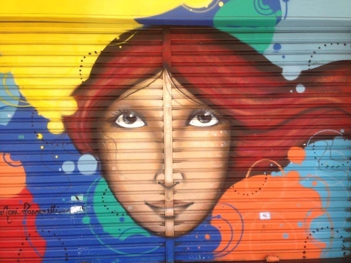 Augusta, São Paulo, Brasil - grafitte - casparmenke   ello