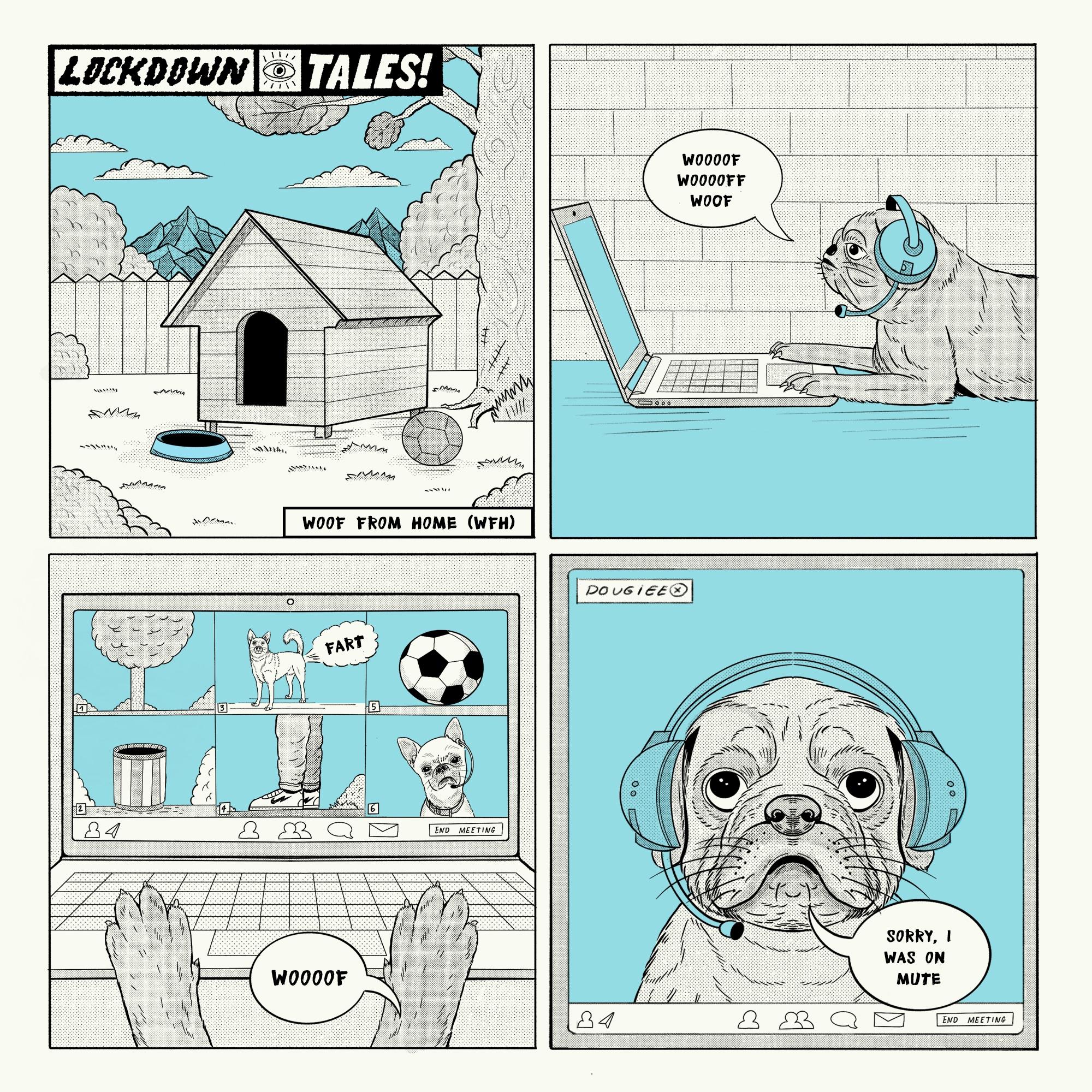 Lockdown Tales - Woog home ( WF - heymikel | ello