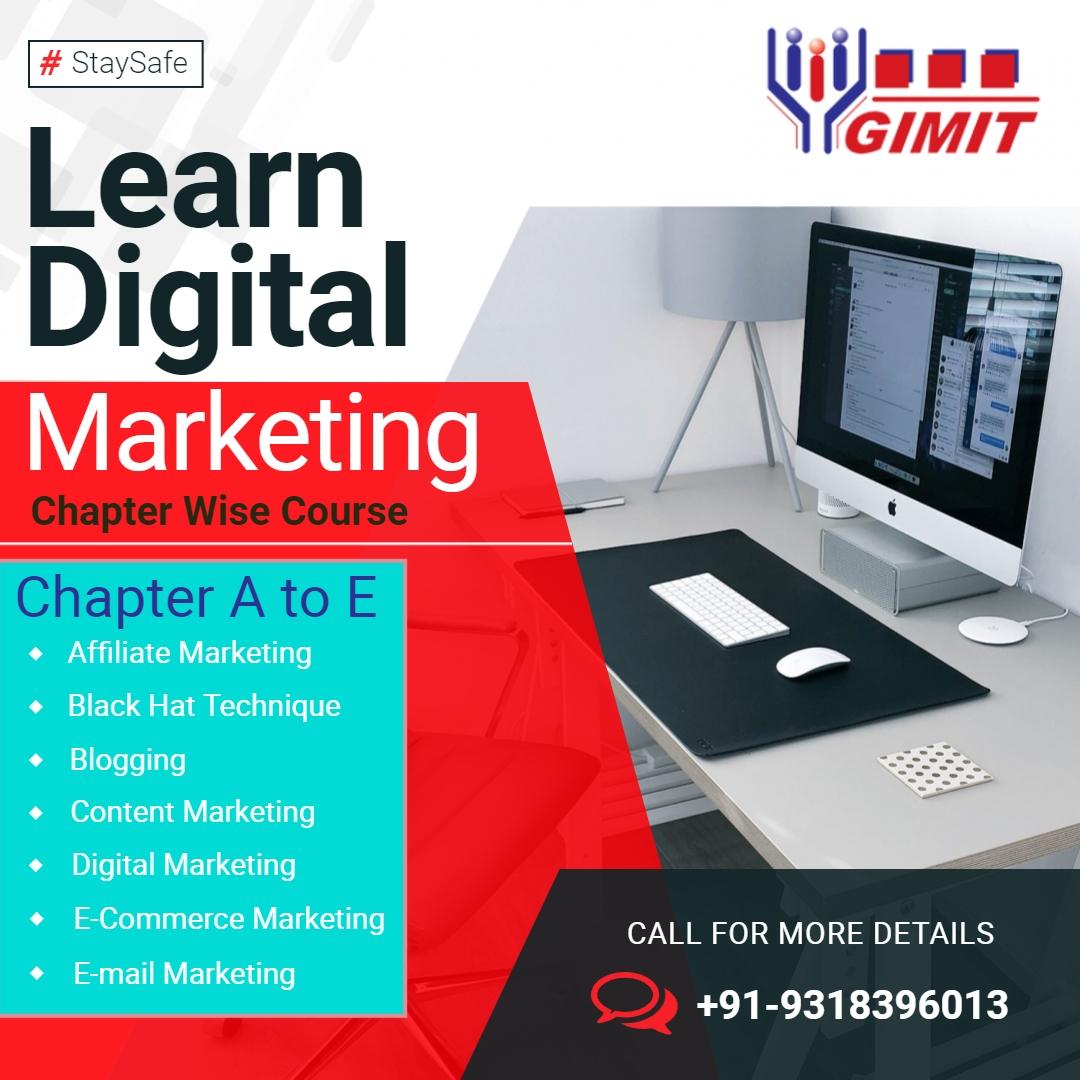 Join Digital marketing training - gimitdigital | ello
