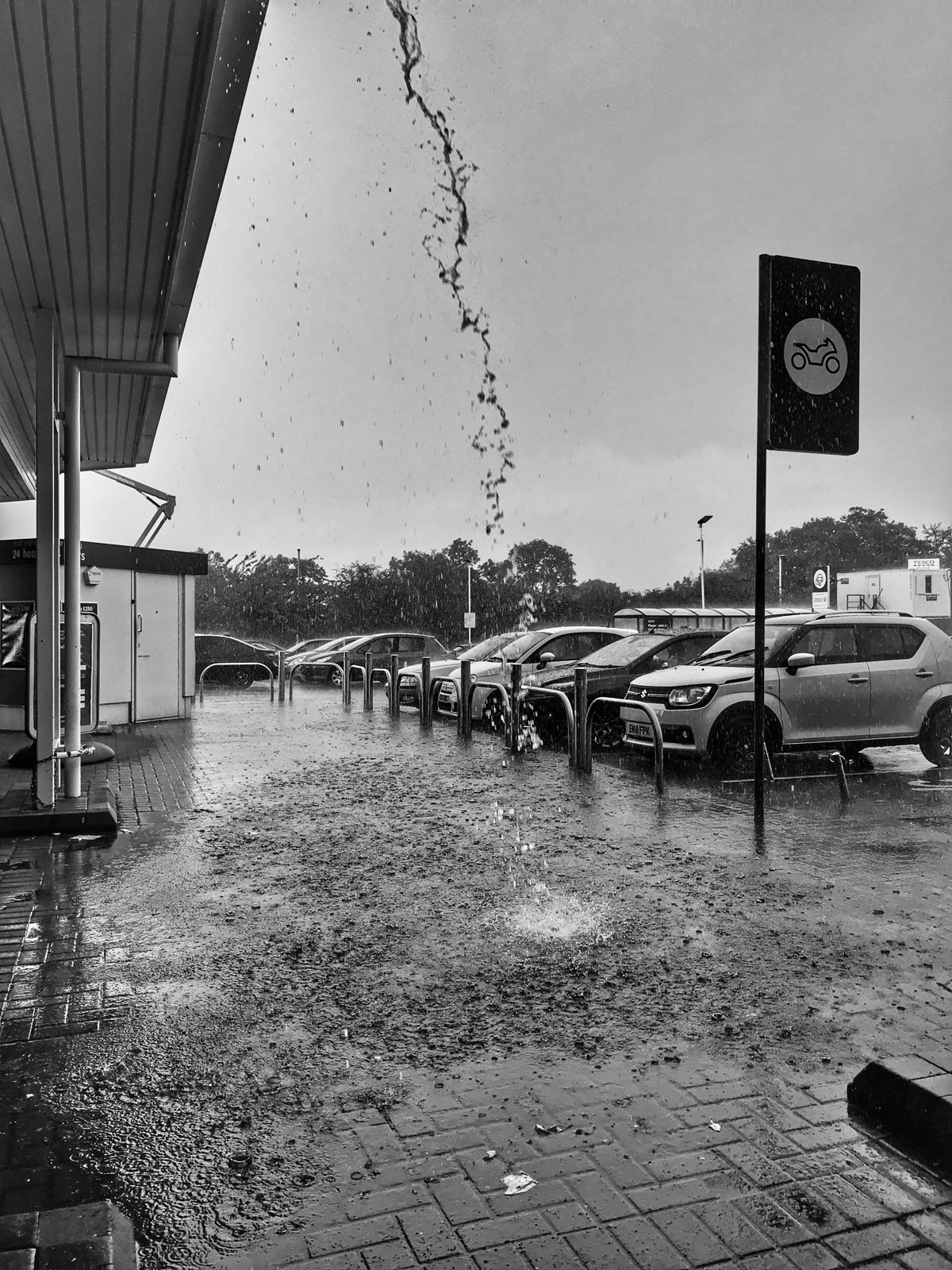 Sudden downpour (iPhone 7 Snaps - paulbines | ello