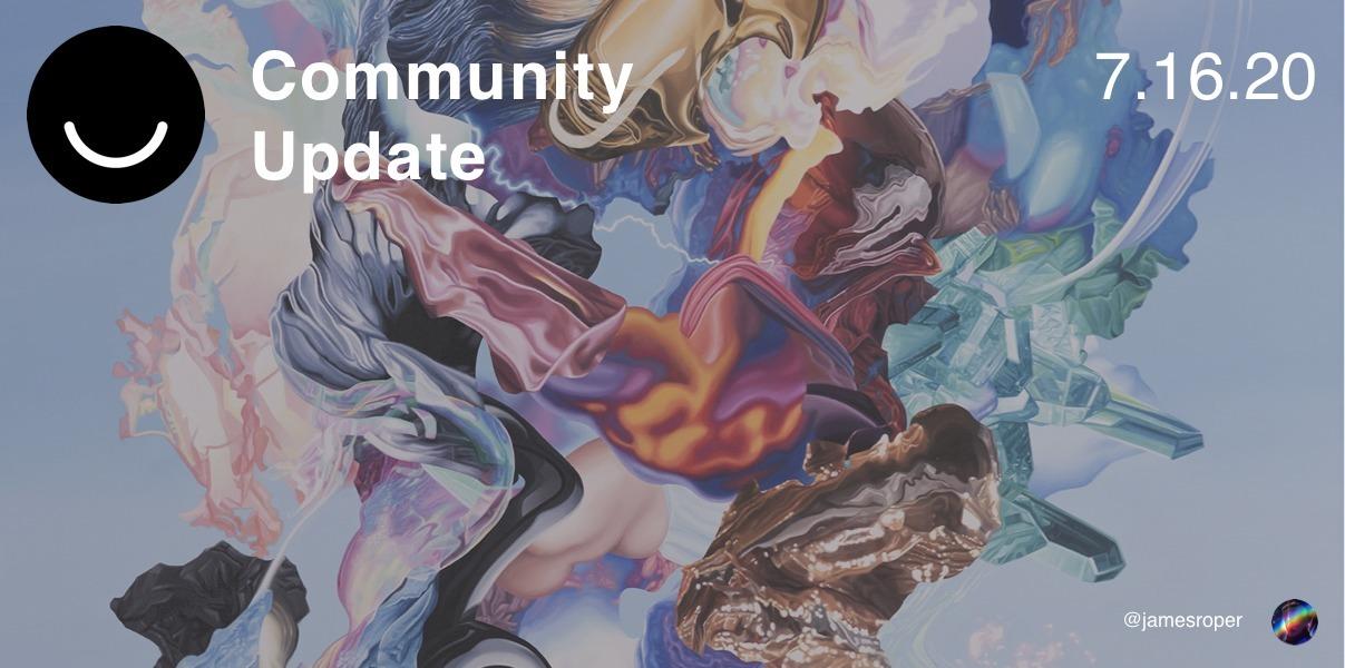 Community Update 7/16/2020 week - elloblog | ello