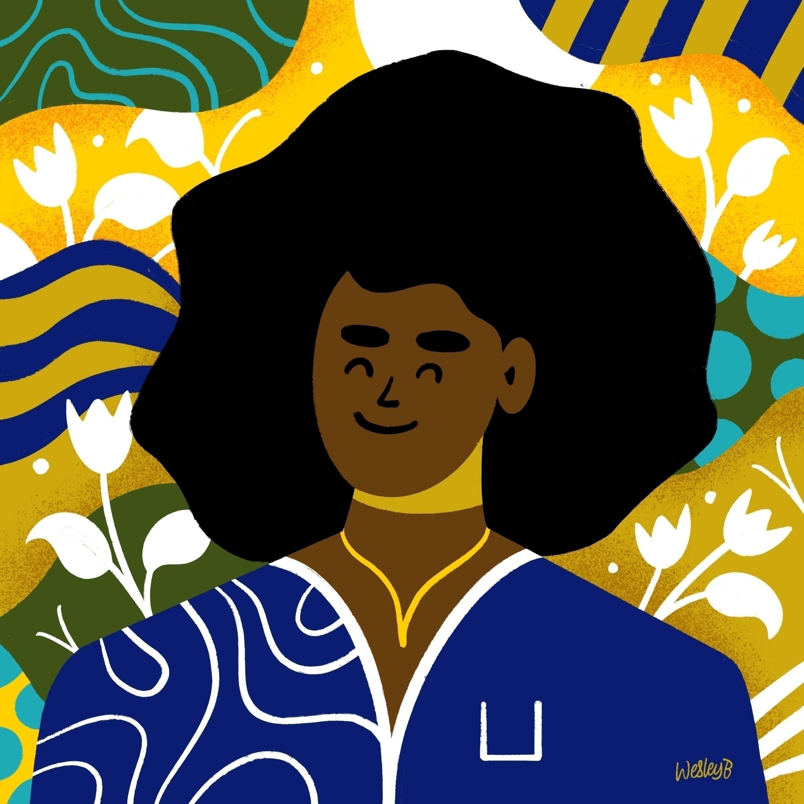 Portrait inspired black lives m - wesleybarnes_ | ello