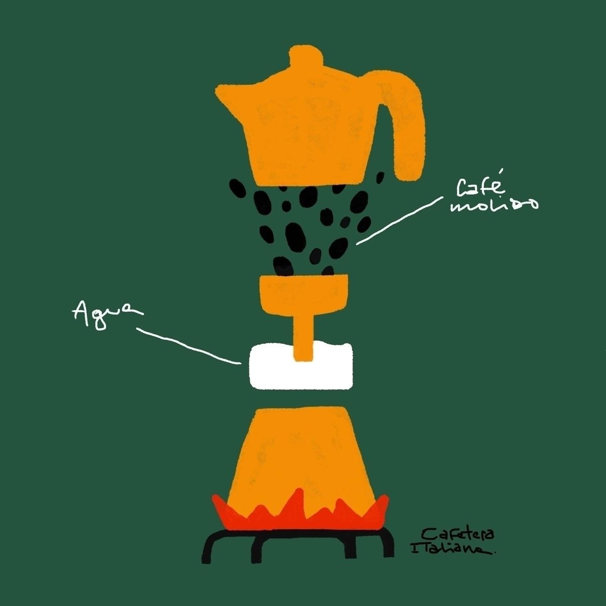 Cafetera italiana Alfonso Biale - sebamunoz | ello