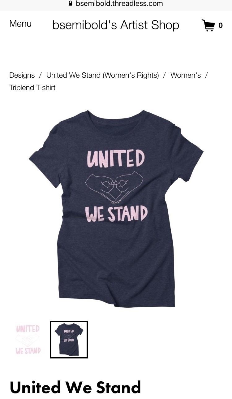 Unite love, resist love - womensmarch - bsemibold | ello