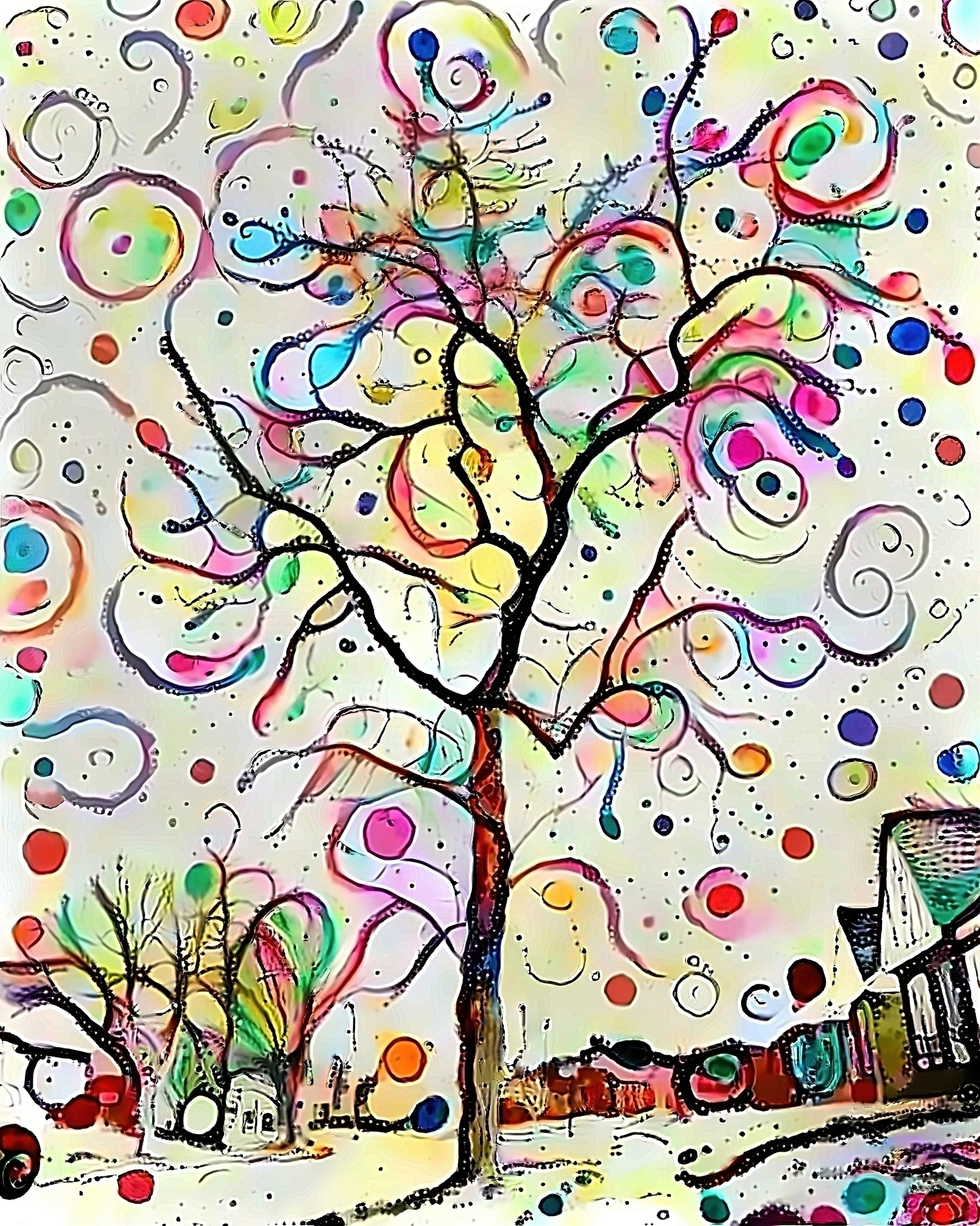 Gumdrop tree - photography - kenlong | ello