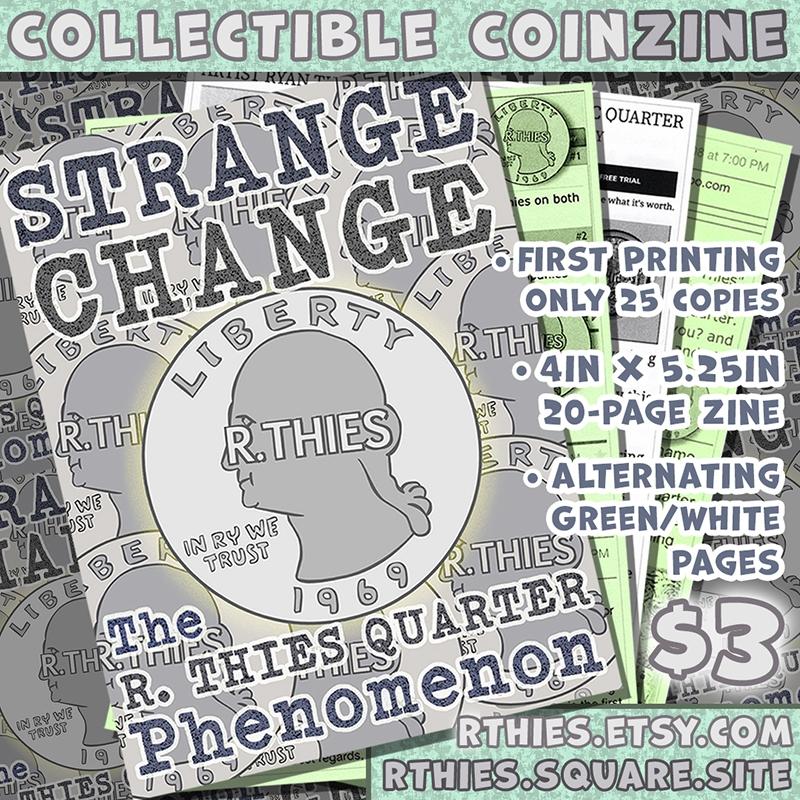 released zine THIES Quarter tod - rthies   ello