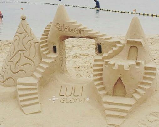 Sand Castle locals Luli Island, - rheaiyah   ello