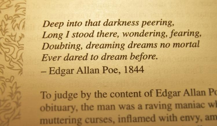 Happy Birthday Edgar Allan Poe! - ruthohaganartist | ello