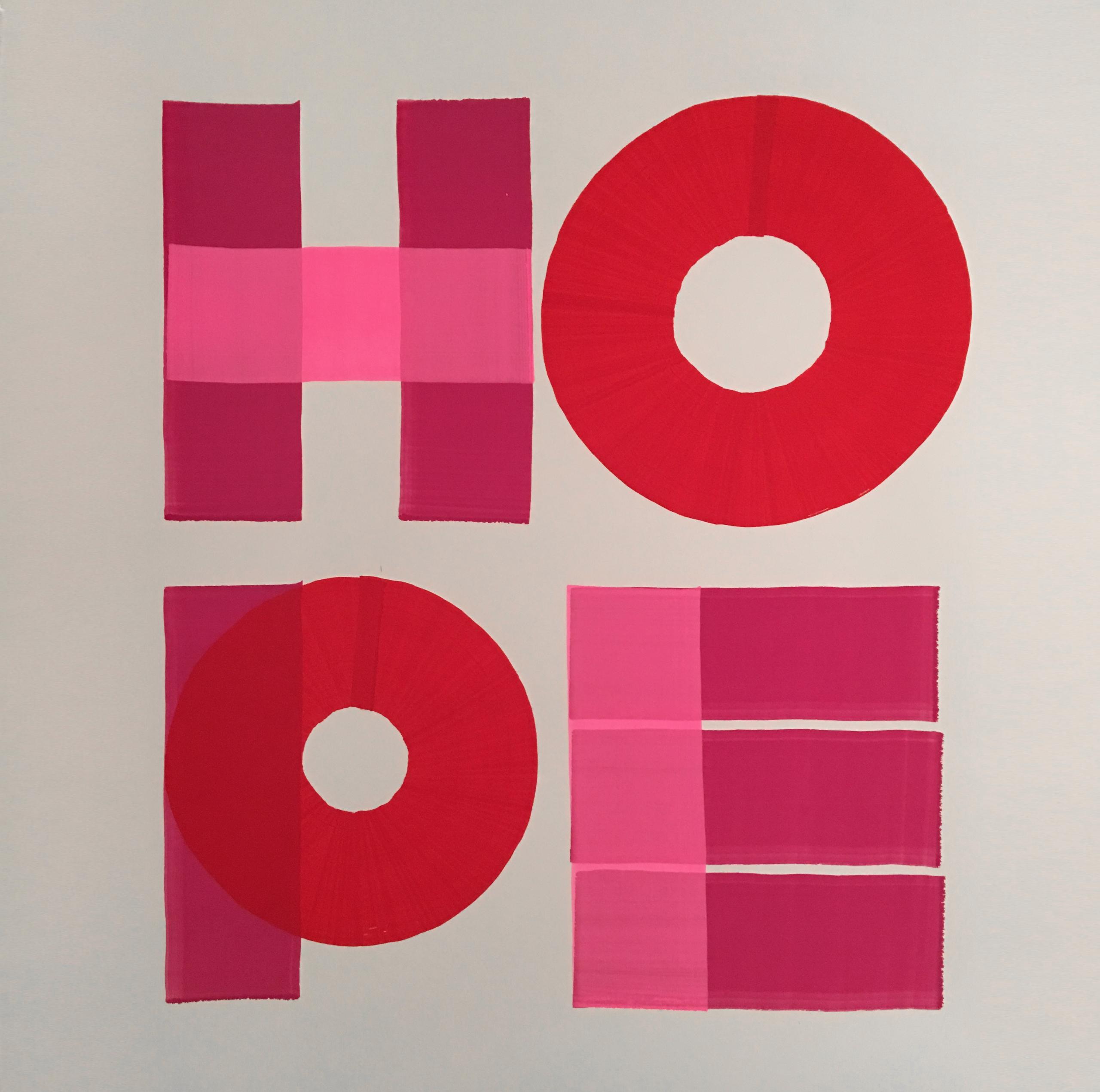 HOPE art typography Buy online  - t_o_w_e_r_s | ello