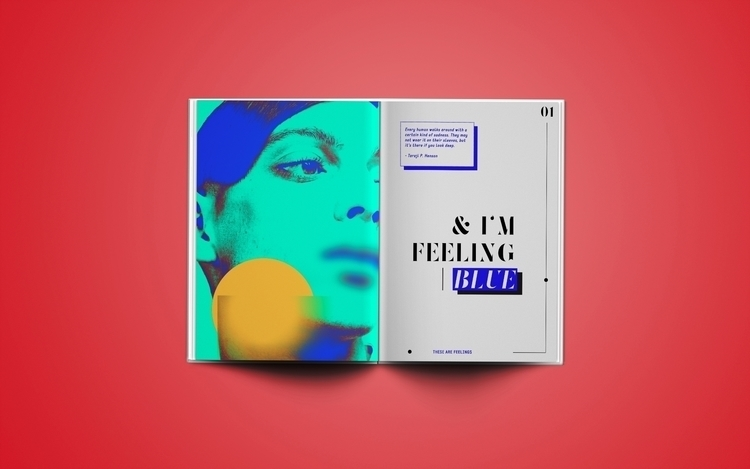 These Are Feelings ; Blue creat - begraphc | ello