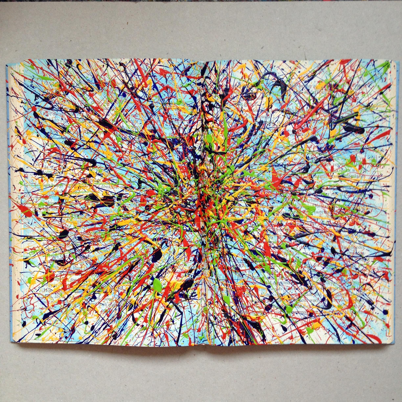 'high voltage' abstract acrylic - sunnyday2016   ello