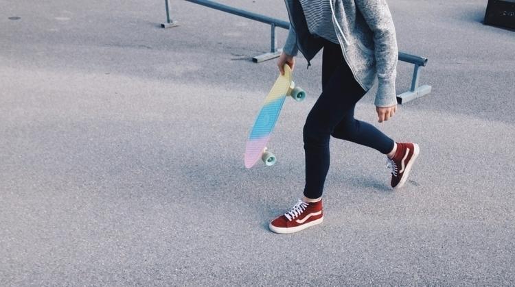 luck. skateboarding - rachelkatstaller | ello