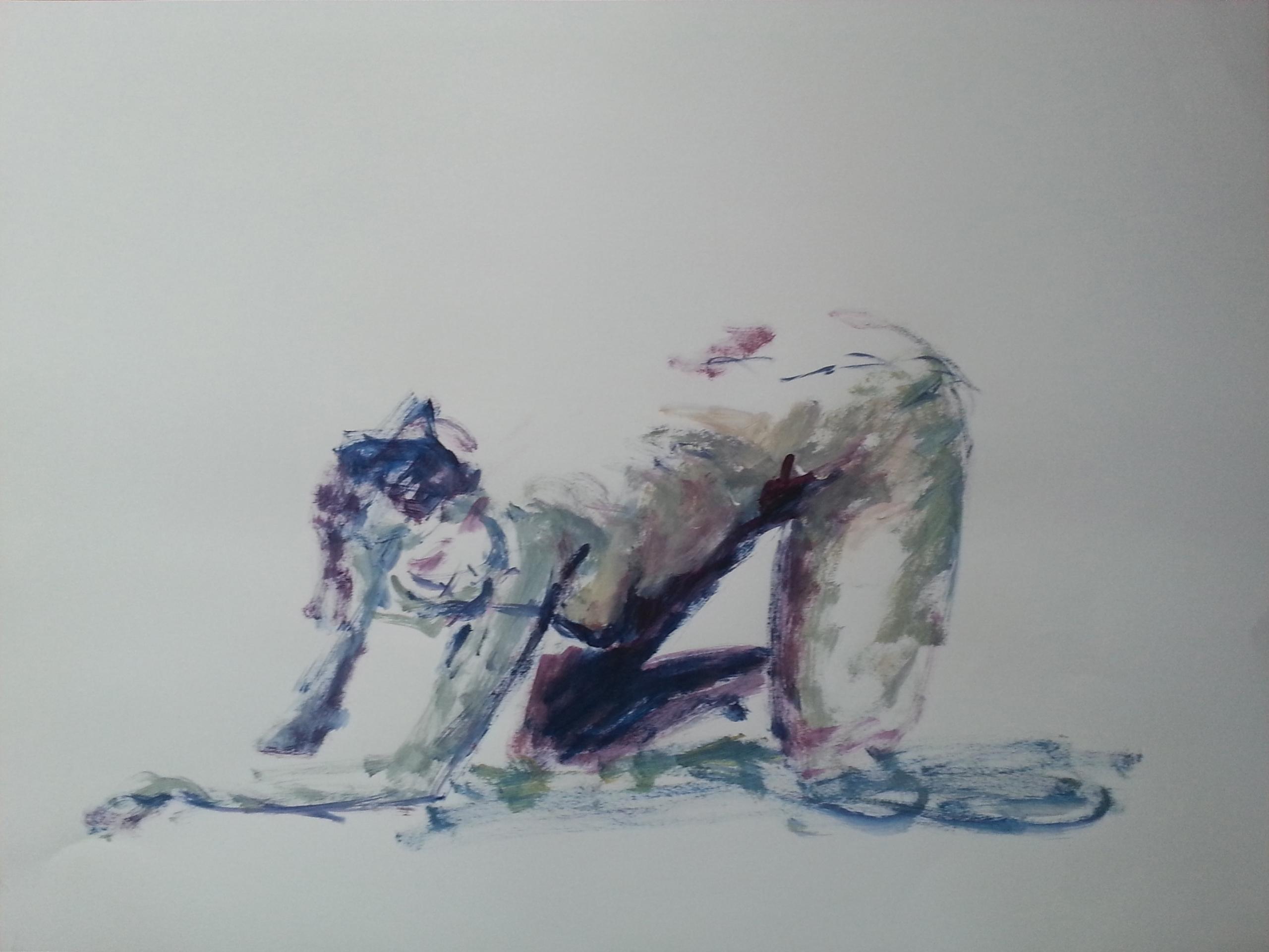 Louisa 05-01-2017 Acrylique sur - olivierjouanard   ello
