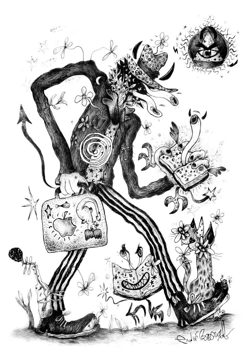 Joint surrealism art artist mrt - mrtronch | ello