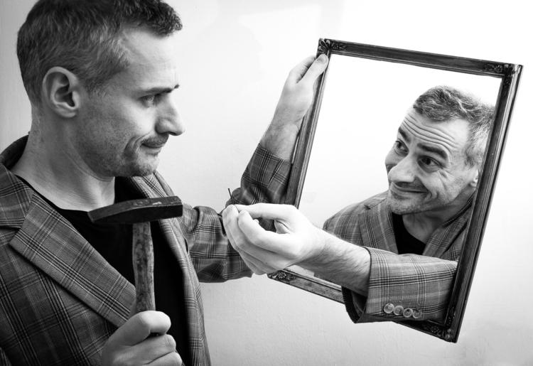 **February Challenge: Framed**  - selfportraiture   ello