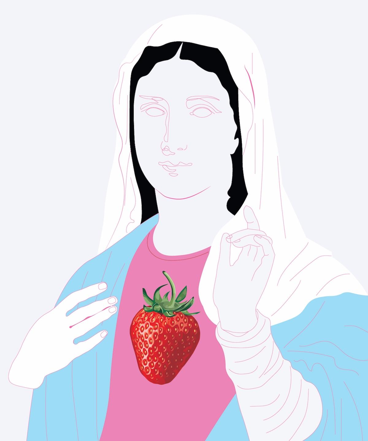 Strawberry feels N2 2d doodle s - sandromartini | ello