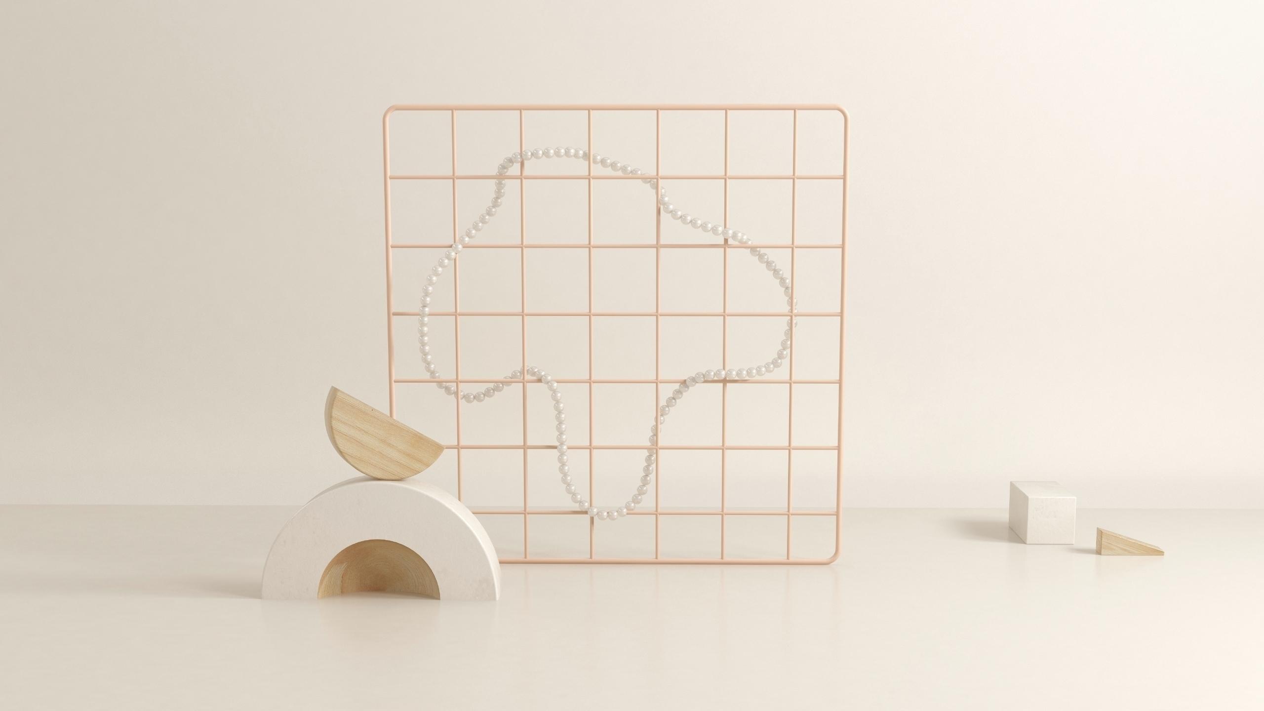 geometry wood setdesign poster  - nicocastro | ello