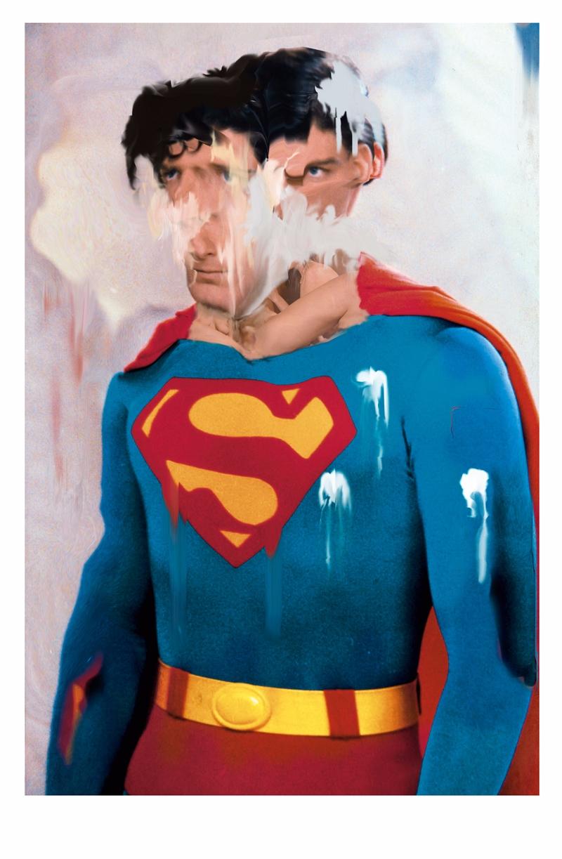 Bizarre comic superhero superma - mrtronch | ello