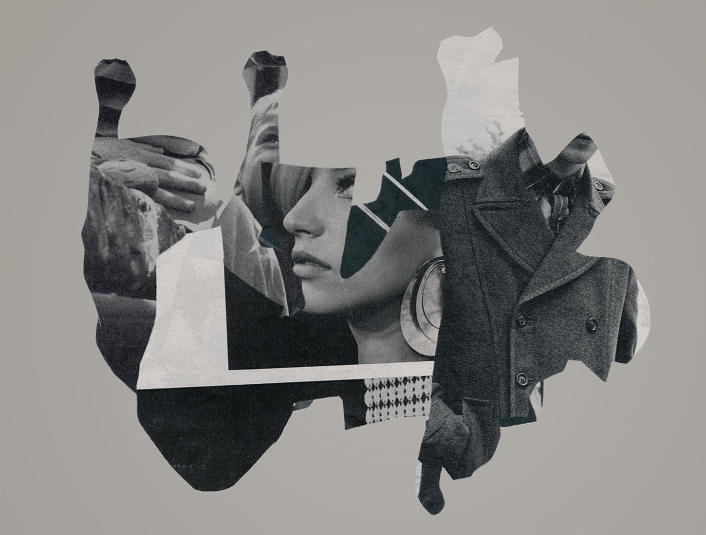 fuse burning cut paper collage  - joecastro   ello