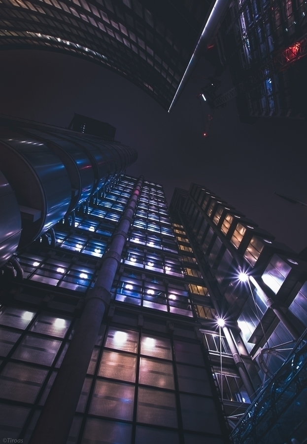 Lloyds building. 17/LE/02  - London - tiroas | ello
