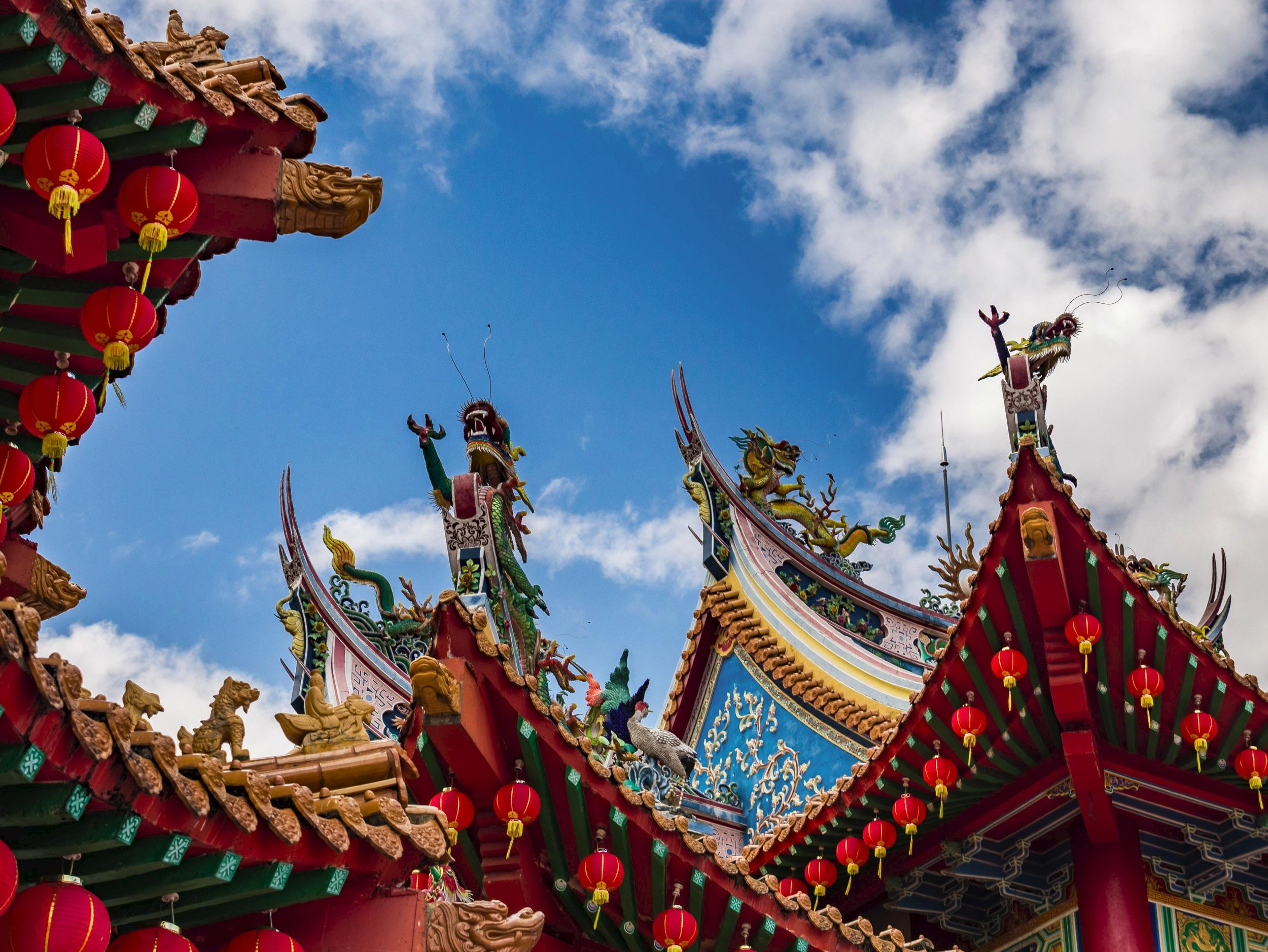 Thean Hou Chinese Temple, KL Ma - travischau | ello