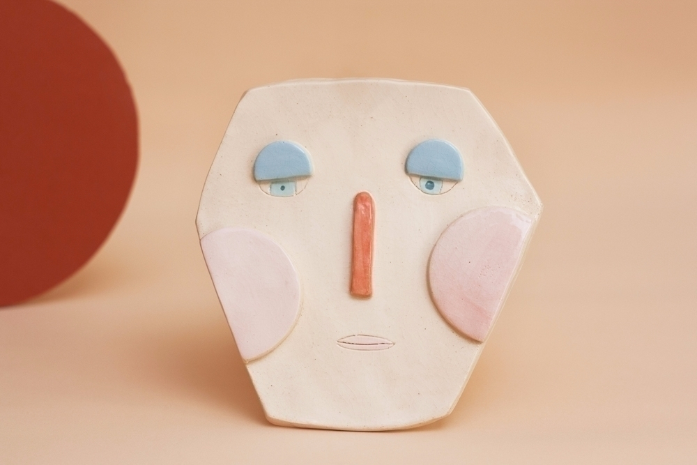 life Mars ceramic mask :) *Sold - uinverso | ello