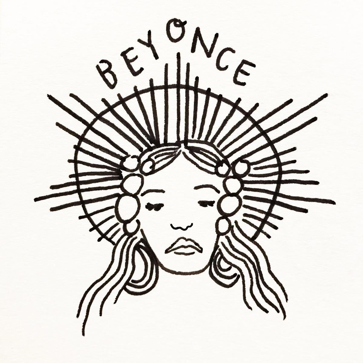 Daily Drawing Day - Beyoncé Bla - wawawawick | ello