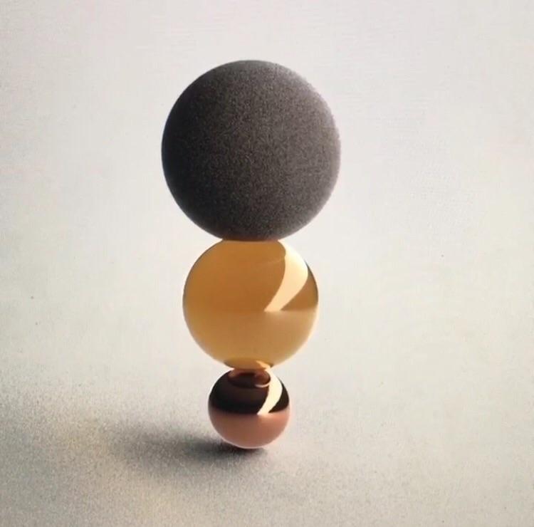 Equilibrium, 3D experimentation - nathaliechikhi | ello