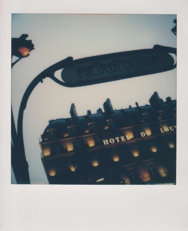 Paris  - polaroid, instantfilm, impossibleproject - adamdreessen   ello