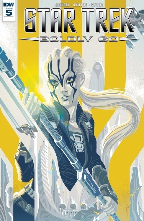 Star Trek Boldly IDW Publishing - oosteven | ello