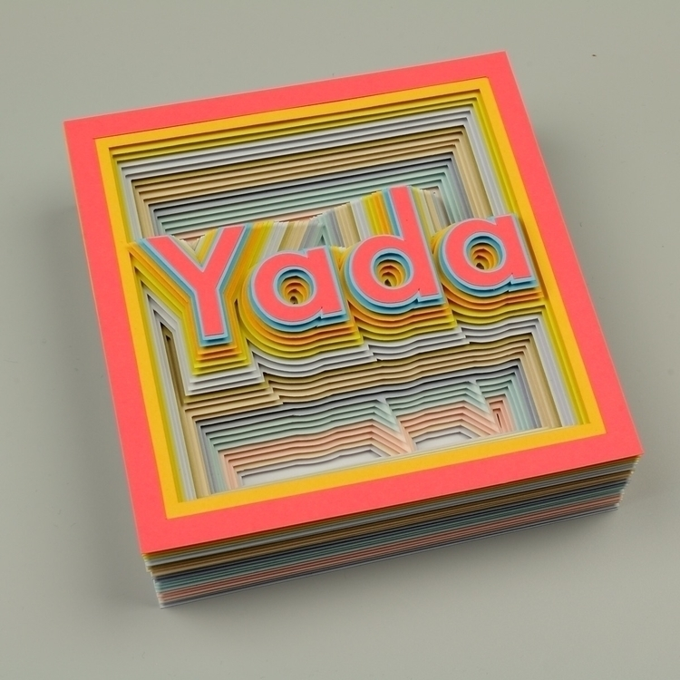 feel making art yada, yada - paperart - hampusha | ello