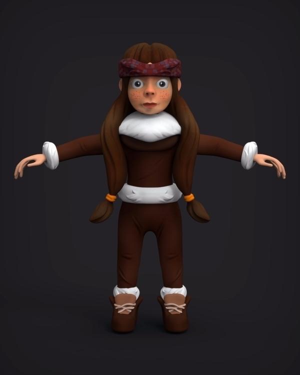 Eskimo Girl: Nana, Poly Baked.  - xwhn | ello