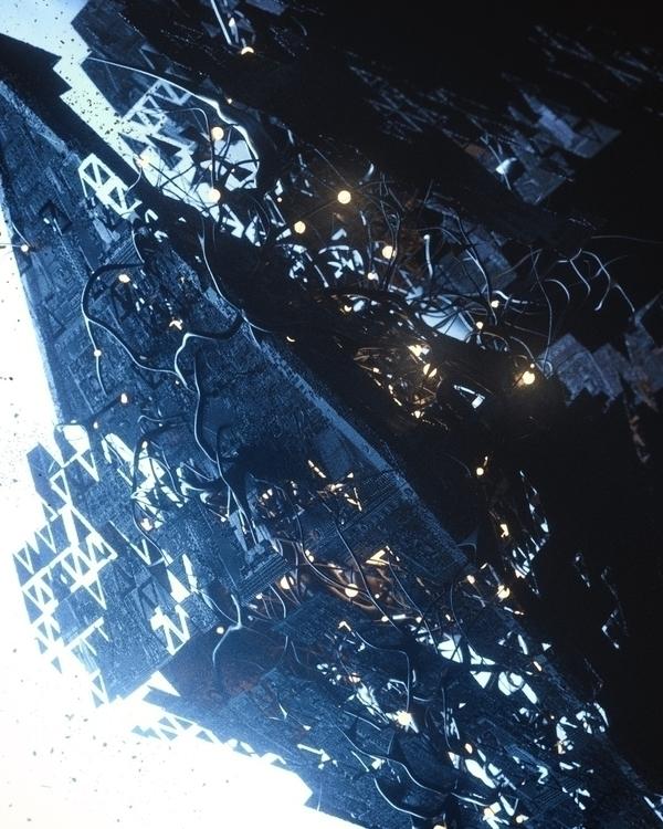 Infected vessel  - cinema4d, c4d - andreasjd   ello