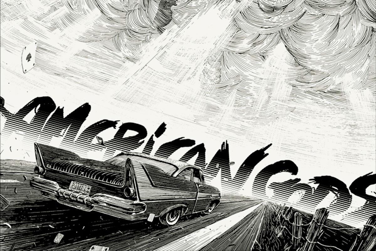 American Gods premiere Starz Su - rick196 | ello
