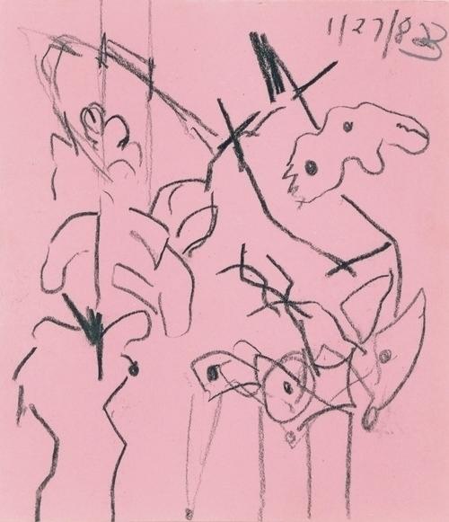 Carroll Dunham Untitled, 1983.  - modernism_is_crap | ello