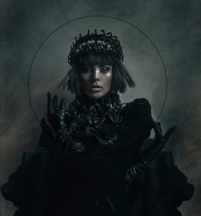 """Reign"" — Photographer/Stylist - darkbeautymag | ello"