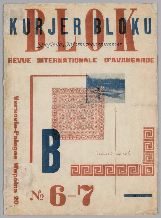 Blok 6-7 1924 - Avant-garde mod - p-e-a-c | ello