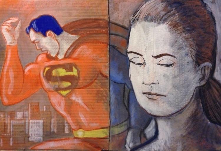 happened superhero Superman?! m - paolobeneforti | ello