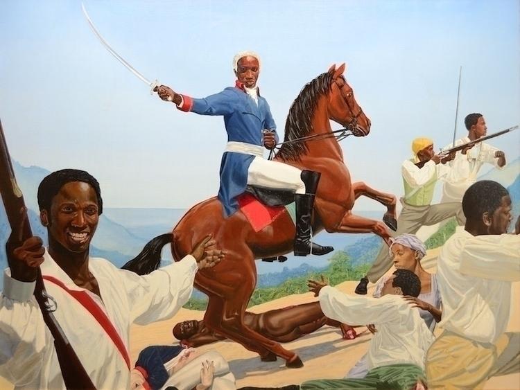 Kimathi Donkor Toussaint Bedour - blackartmatters | ello