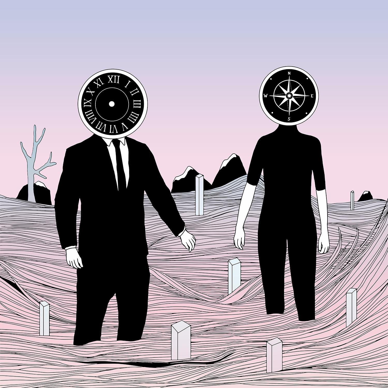 Time Journey Place - illustration - normanduenas | ello