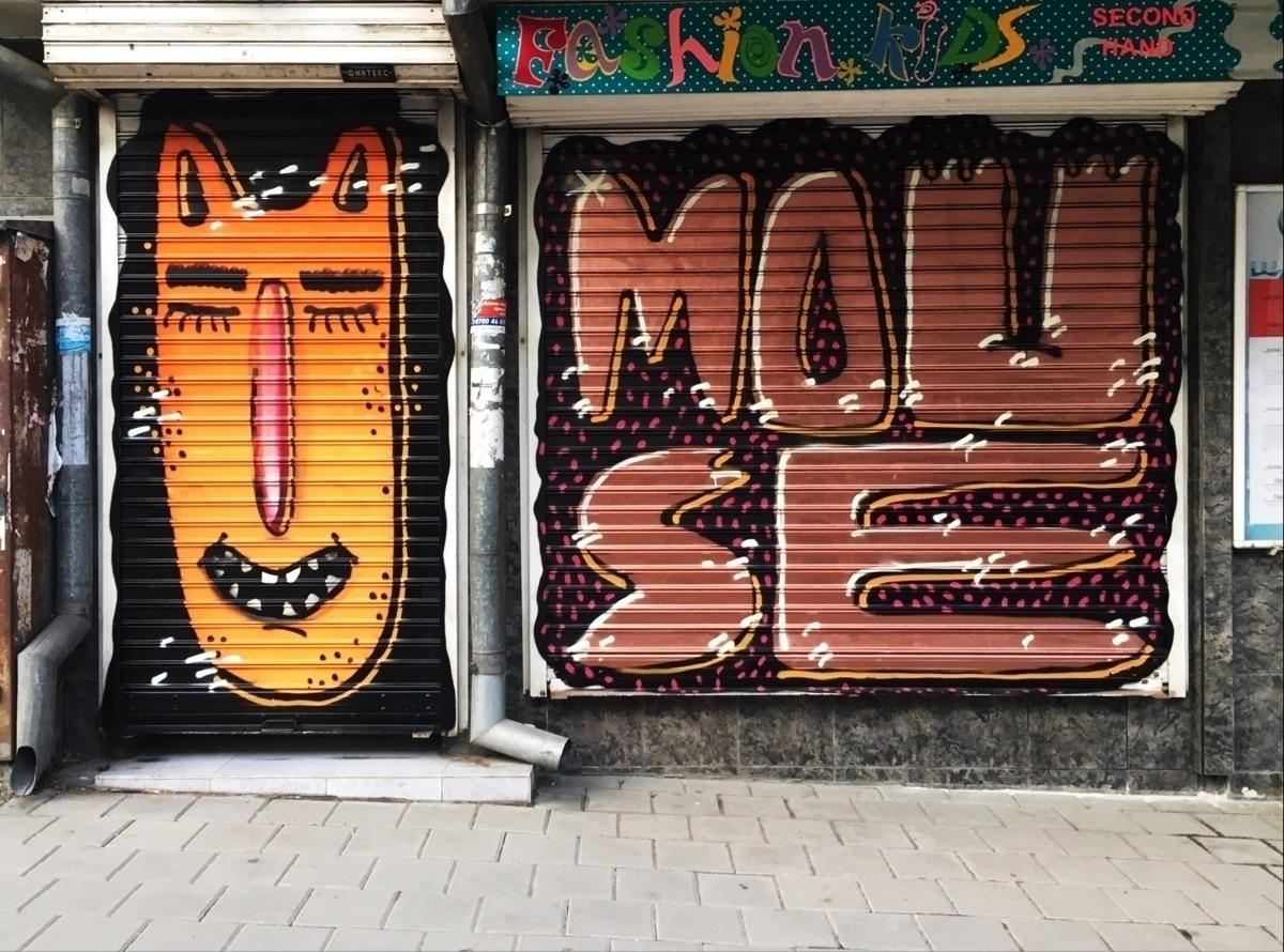 youmakemesmile, freshstyle, graffiti - viktoriageorgievamouse   ello